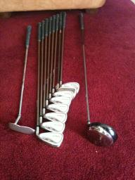Cobra Golf Clubs & Wilson Golf Bag