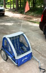 InStep double seater bike trailer