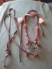 Leather Bridle with Decorative side tassles