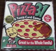 PIZZA 31 A TASTY CARD GAME