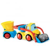 Chicco: Construction Bulldozer and Dump