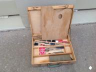 Art kit with palette