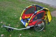 BURLEY BIKE TRAILER! (Master Cycle)