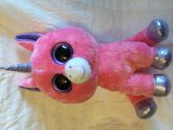 Justice Brand stuffed pink unicorn