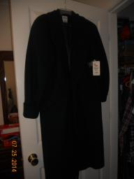 Full Length Wool Coat