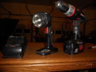 Craftsman Cordless Drill w/accessories