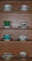 Tea Cup collection vintage
