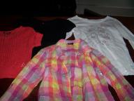 Seven (7) Girls Size 7-8 and Size 10-12 Shirts