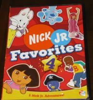 Nick Jr. Favorites DVD