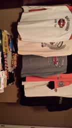 Harley-Davidson Shirts T's and button ups