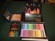 Prismacolor pencils and stix