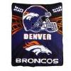 Denver Broncos Light Weight Fleece MLB Blanket N more teams