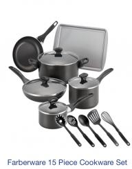 Farberware 15 Piece Cookware set!!! BRAND NEW