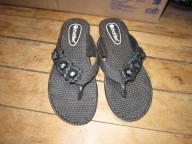 Black Chatties Flip-Flops