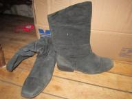 Black Scrunch Boots