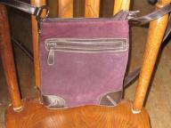 Purple Cross-Shoulder Bag