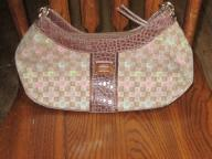 Brown/Pink Liz Clairborne Handbag