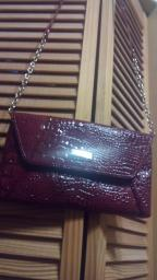 Burgundy Nine West purse