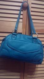 Teal purse