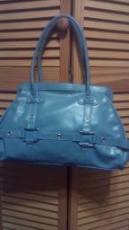 Baby blue purse
