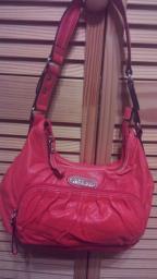 Orange Rosetti purse