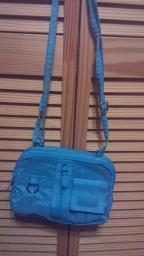 Teal multi sac purse