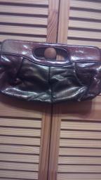 Goldish brown handbag