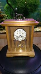 Linden Quartz Clock , Mantel ,Nice , Around 13