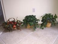 Ornamental flower baskets