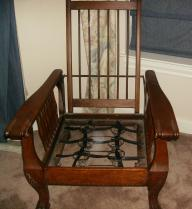 ANTIQUE MORRIS CHAIRS