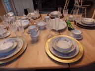 CHINA AND CRYSTAL STEMWARE