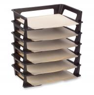 SET OF 10 STACKING FILE TRAYS