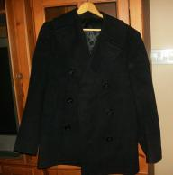 US NAVY PEA COAT