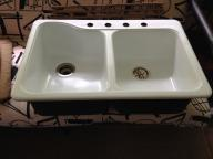 American Standard Double Top Mount Kitchen Sink
