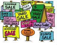 OVER 50 HOMES & VENDORS SHADY BANKS FLEA MARKET/YARD SALE NEW & O