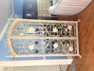 Wrought Iron WINE Closet