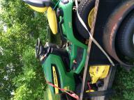Riding mower John Deere