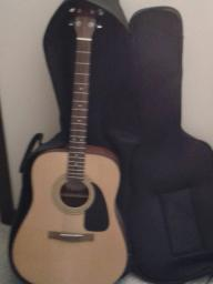 FENDER ACOUSTIC GUITAR W/ SOFT CASE