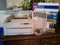 Laser Jet 4P Black and White Printer by Hewlett Packard