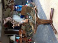 Driftwood table - handmade and high end