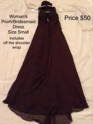 Woman's Prom/Bridesmaid Dress
