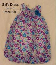 Girl's Toddler Dress