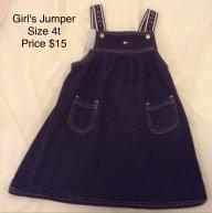 Girl's Toddler Jumper