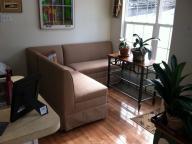 Custom made upholstered corner Bench seating