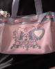 Juicy Couture Pink Velour Handbag