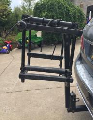 Bike/Ski Rack-hitch mounted
