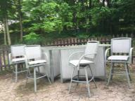6pc Bar Set, outdoor