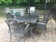 7pc Dining Set, outdoor