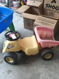 Little Tikes Ride-On Dump Truck