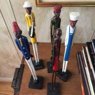 Senegalese Pencil Figuress